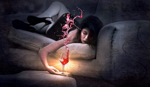 waarom kater na wijn